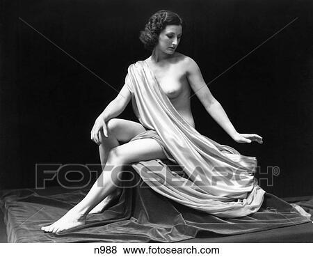 Kvinnliga modeller naken