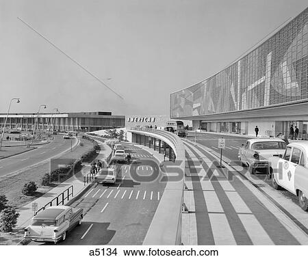 1960s American Airlines Jet Terminal Idlewild Airport Now Jfk