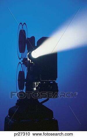 フィルム映写機 ストックイメー...