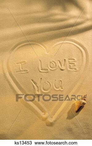 Stock Photo Of Valentines Day Beach Celebration Concepts Heart