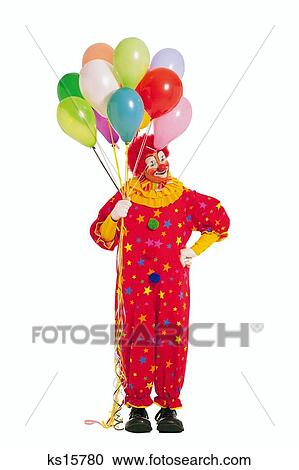 stock photography of characters balloon ballooning business