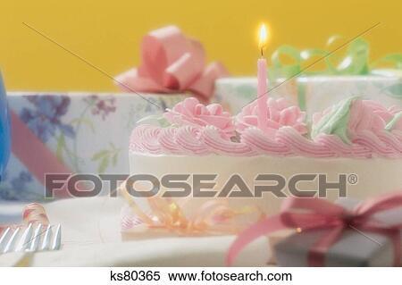 Milestones Birthday Cake Candle Desert Gift