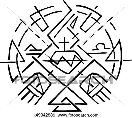 Christian Symbol Of Jesus Sacred Heart And Hands Clipart