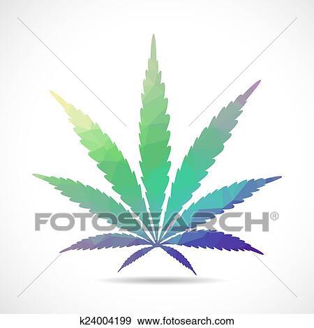 Banque d 39 illustrations feuille cannabis k24004199 recherche de cliparts vecteuris s de - Dessin feuille cannabis ...