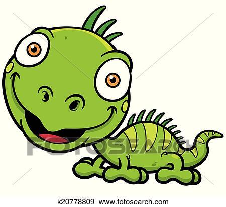 clip art of iguana k20778809 search clipart illustration posters rh fotosearch com iguana clip art mexican iguana clip art b&w