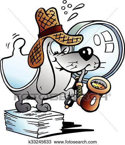 Zeichentrick Hund Detektiv