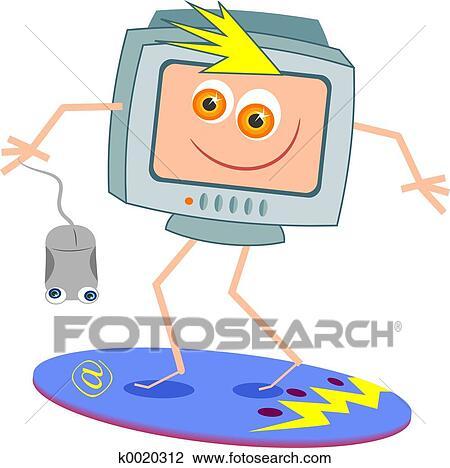 Surfer internet