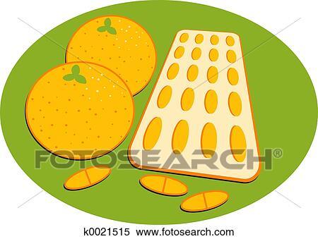 Banque d Illustrations - vitamine c k0021515 - Recherche de Cliparts ... d856e46b2b2