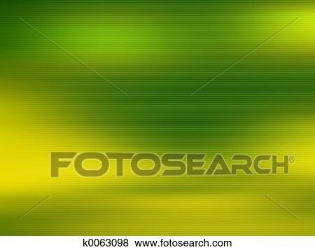 Verde E Sfondo Giallo Archivio Illustrazioni K0063098 Fotosearch
