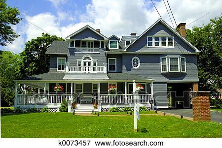 Immagine stile vittoriano casa k0073457 cerca archivi - Casa stile vittoriano ...