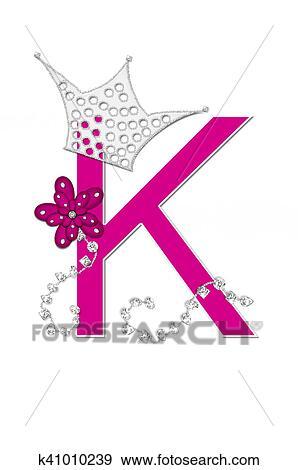 Colección de ilustraciones - alfabeto, desfile, reina, k k41010239 ...