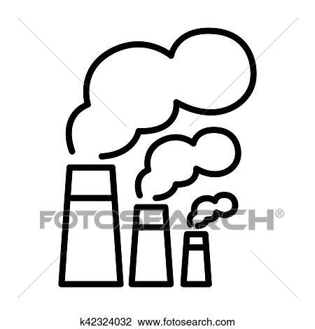 Ambiental Poluicao Ilustracao Desenho Clipart K42324032