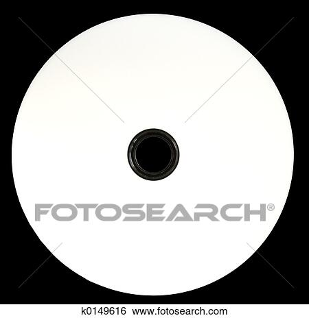Blank Cd Dvd Template Stock Photograph K0149616 Fotosearch