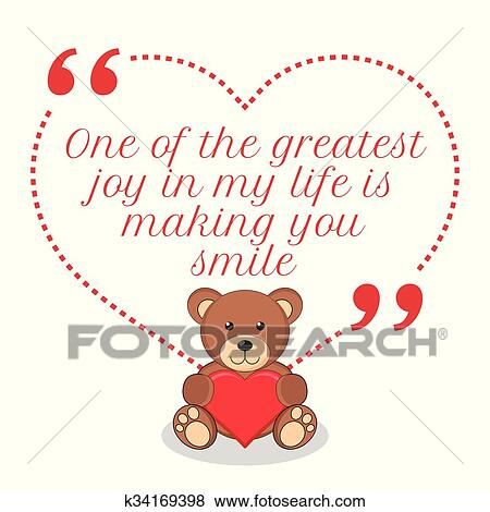 clip art of inspirational love quote one of the greatest joy in my