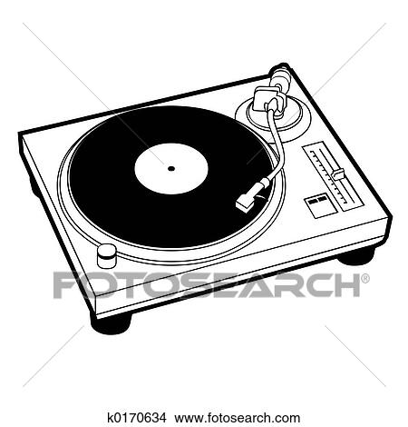 drawings of turntable k0170634 search clip art illustrations wall rh fotosearch com simple turntable clipart turntable clip art free