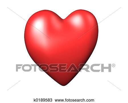 hart tekening   k0189583   fotosearch