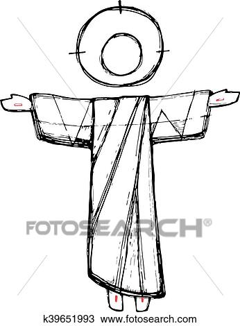 Faith In Jesus Clipart - Easter Jesus Resurrection Clipart - Free  Transparent PNG Download - PNGkey