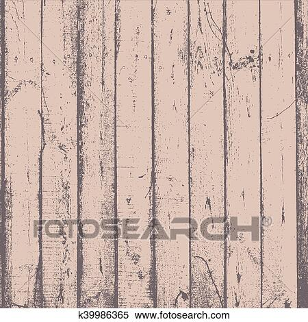 Distress Wooden Planks Desaturated Paint Texture For Your Design Empty Grunge Rustic Element Eps10 Vector