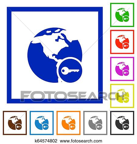 Girl surfing the internet stock vector. Illustration of icon - 63145890