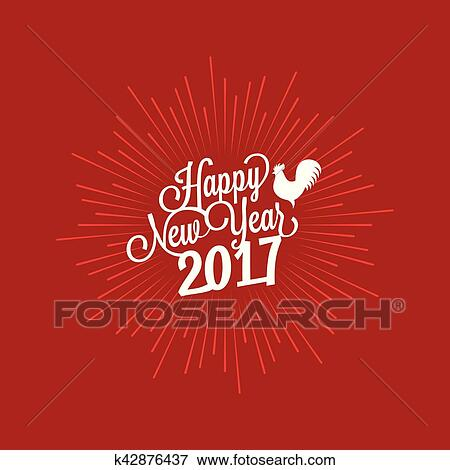 Happy New Year Lettering Design 63
