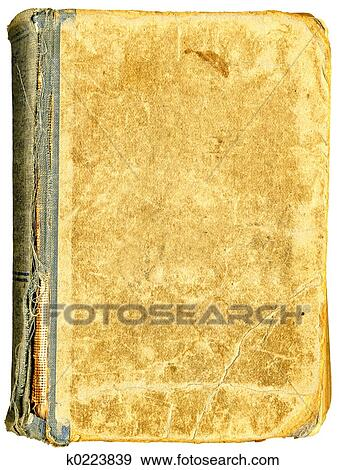Old Book Open On Both Blank Shabby Pages With Stains And ScratchesView My Other Textured Paper