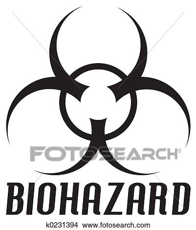 Drawings Of Biohazard Symbol K0231394 Search Clip Art