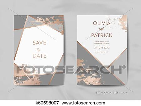Wedding Invitation Cards Collection Save The Date Rsvp With