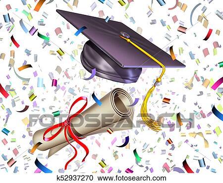 Stock Illustrations Of Graduation Celebration K52937270
