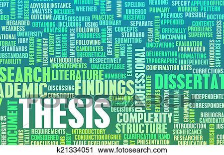 Thesis dissertation database