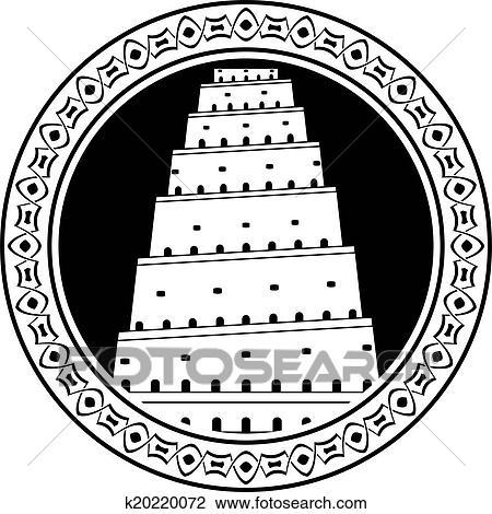 Torre De Babel Segundo Variante Desenho K20220072 Fotosearch
