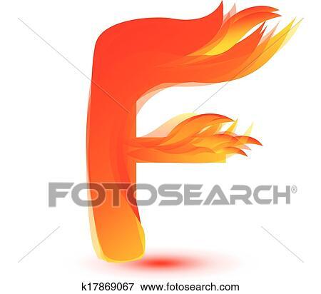 Muito Clipart - fogo, f, letra, imagem, desenho, vetorial k17869067  CA84