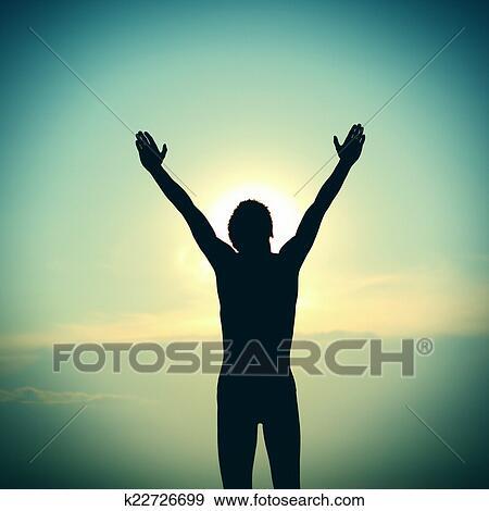 Excepcional Arquivo Fotográficos - pessoa, orando k22726699 - Busca de Imagens  CT79