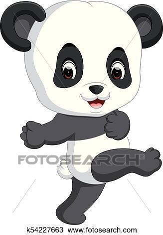 Clipart Mignon Rigolote Bebe Panda K54227663 Recherchez Des