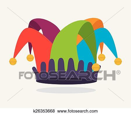 clip art of april fools day design k26353668 search clipart rh fotosearch com april fools easter clipart april fools day clipart
