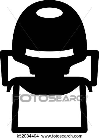 Baby High Chair Icon Clipart K52084404 Fotosearch