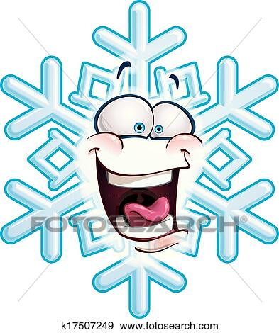 clip art of snowflake head lol k17507249 search clipart rh fotosearch com lol emoji clipart lol clipart png