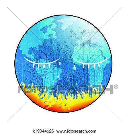 Clip Art   Save The Earth. Fotosearch   Search Clipart, Illustration  Posters, Drawings