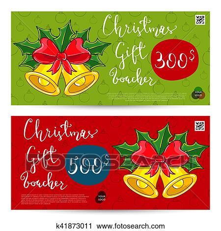 Presente Natal Comprovante Com Pre Pago Soma Modelo Clipart