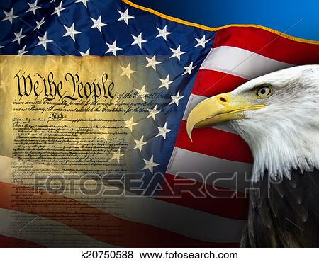 Pictures Of Patriotic Symbols United States Of America K20750588