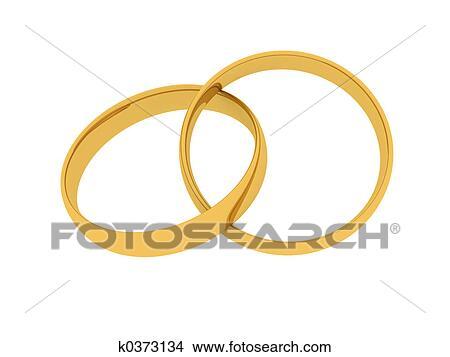 Zeichnungen Goldene Hochzeit Ring K0373134 Suche Clip Art