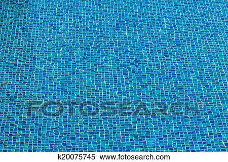 Archivio illustrazioni piastrella ceramica mosaico in piscina