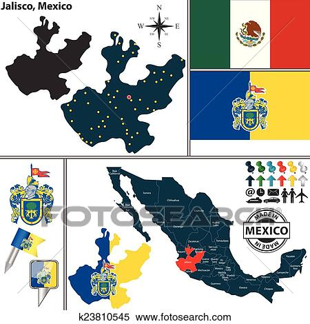 Map of Mexico  with the State of Jalisco highlighted   The further  furthermore Image SEO all 2  Mexico map  post 16 further Endeavour Silver Outlines Several Prospective New Silver Gold Veins together with Maps of mexico michoacan and travel information   Download free Maps together with Blank Simple Map of Jalisco  cropped outside  no labels furthermore Slideshow for Jalisco Mexico Maps together with Jalisco Mexico Map Decal as well Guadalajara Maps and Orientation  Guadalajara  Jalisco  Mexico additionally Maps of Mexico   Focus On Mexico in addition How big is Lake Chapala    Geo Mexico  the geography of Mexico as well  also Map Of Guanajuato  Mexico further  further  together with Clipart of Map of Jalisco  Mexico k23810545   Search Clip Art. on map of jalisco state mexico