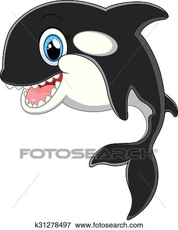 Clipart orque dessin anim k31278497 recherchez des cliparts des illustrations des - Dessin d orque ...