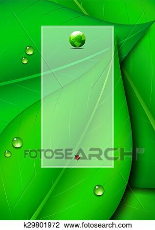 Green Leaf Background Copy Space Clipart K29801972 Fotosearch Hand painted background plant, plant clipart, green leaves, decorative background png transparent clipart image and psd file for free download. fotosearch