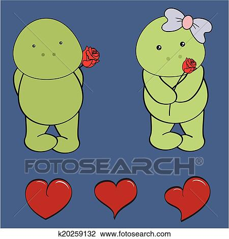 Clipart tortue b b amour dessin anim rose - Clipart amour ...
