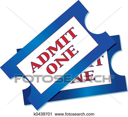 clipart of admission tickets k0439701 search clip art rh fotosearch com clipart ticket out of hell clip art tickets free