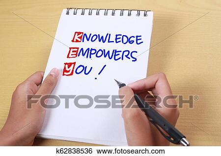 Citaten Noteren : Klee kennis empowers u motivational woorden citaten concept