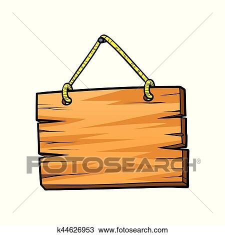 clipart of wood board sign k44626953 search clip art illustration rh fotosearch com wood sign clipart free wood sign clipart png