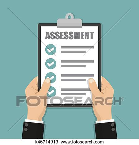 Businessman Hands Holding Clipboard Checklist With Assessment Clipart K46714913 Fotosearch Alternative assessment png images, alternative assessment clipart. stock photography and stock footage