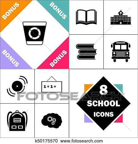 Clipart Of Recycle Bin Computer Symbol K50175570 Search Clip Art